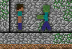 Игра Майнкрафт: Зомби-арена