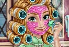 Игра Ледяной макияж Анны