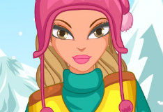 Игра Зимний макияж