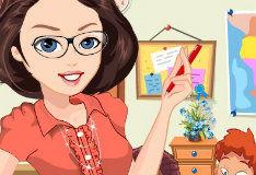 Игра Привлекательная учительница