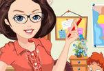 играйте в Привлекательная учительница