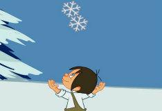 Игра Поймай снежинку