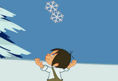 Поймай снежинку