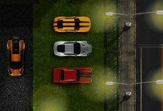 Игра Парковка спортивной машины