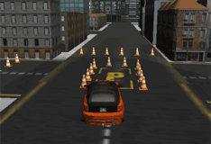 Игра Парковка в городском стиле