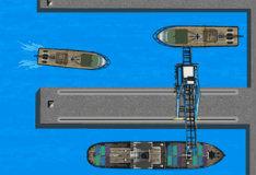 Парковка на берегу Нью-Джерси