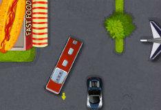 Игра Управление автобусом в аэропорту 3