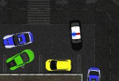 Парковка полицейского автомобиля 3