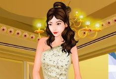 Игра Рождественский макияж прекрасной принцессы