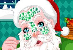 Игра Макияж для Санта-Клауса