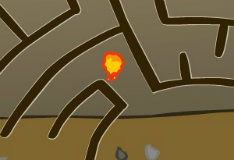 Игра Лавовый лабиринт