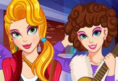 Игра Девчачья рок-вечеринка