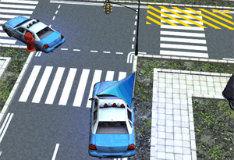 Игра Полицейская машина