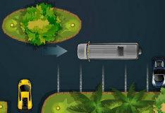 Парковка роскошного лимузина