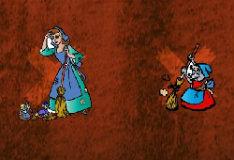 Игра Наклейки с Золушкой