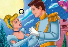 Игра Золушка и принц: найди 6 отличий