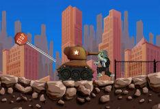 Игра Зомби-танк
