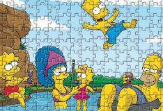 Игра Симпсоны: пазл