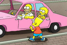 Парковка Симпсонов