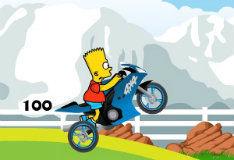 Барт на мотоцикле
