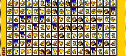 \Игра Симпсоны: найди пару