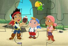 Игра Пиратский пазл Иззи