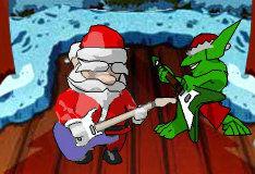 Игра Рождество в стиле рок