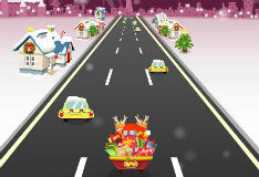 Санта: безумный гонщик