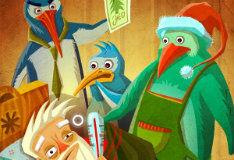 Игра Пингвины Санты