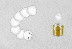 Игра Рождественская змейка