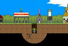 Игра Майнкрафт: Мегашахтер