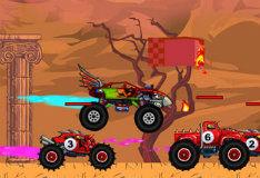 Игра Игра гонки на крутых машинах Безумный грузовик