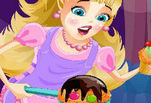 Играть бесплатно в Мороженица Барби