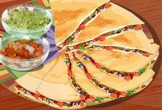 Рецепт сырной кесадильи