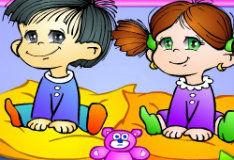 Игра Няня в детском саду