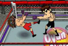 Боксерский поединок между Беном 10 и Бакуганом