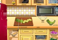 Игра Овощная фриттата