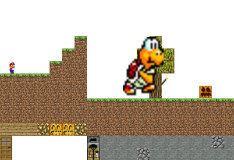 Игра Когда Майнкрафт встречает Марио