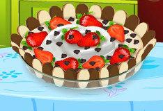 Торт с шоколадным муссом
