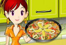Паэлья - игра готовим разную еду