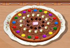 Игра Шоколадная пицца