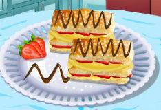 Игра Слоеный торт Наполеон