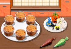 Игра Хэллоуинские кексы