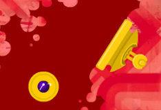 Могучий фиолетовый шар