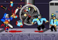 Игра Бионическая горилла-робот с бензопилой