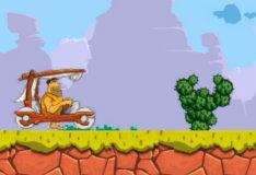 Игра Автомобили каменного века