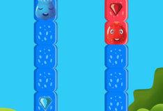 Игра Голубое и красное