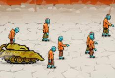 Неистовство танков в зомби-городке
