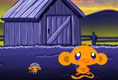 Игра Счастливая обезьянка: дракон