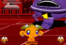 Игра Счастливая обезьянка в мире научной фантастики 2